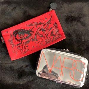 💋KAT VON D & NARS Bundle of 2 Makeup Cases